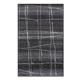 nuLOOM Contemporary Trellis Dark Grey Rug (5' x 8')