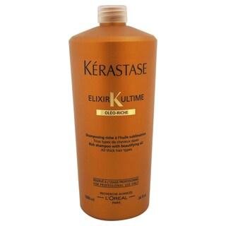 Kerastase Elixir K Ultime Bain Riche Rich 34-ounce Shampoo