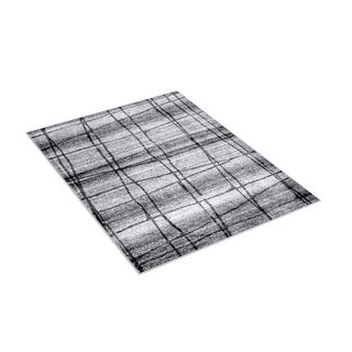 nuLOOM Contemporary Trellis Grey Rug (8'6 x 11'6)