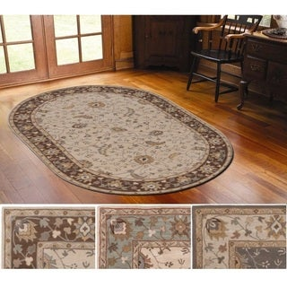 Hand-Tufted Toby Wool Rug (6' x 9' Oval)