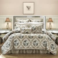 Chic Home Angelica Jacquard Fabric 9-piece Comforter Set