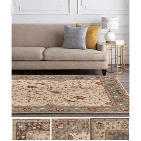 Hand-Tufted Toby Wool Area Rug - 6' x 9'