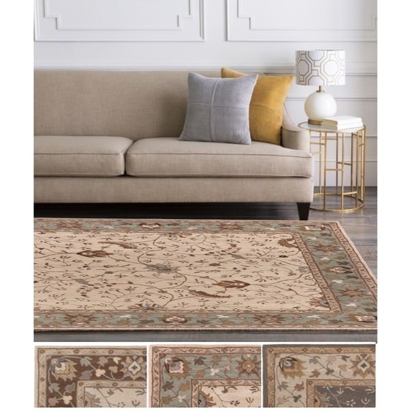 Hand-Tufted Toby Wool Rug (6' x 9')