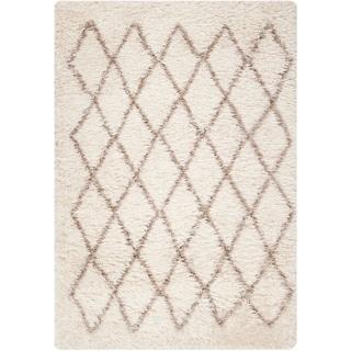 Hand-Stitched Kellen Polyester-Wool Rug (5' x 8')