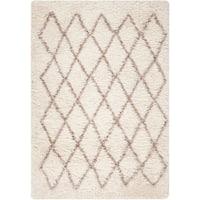 Hand-Stitched Kellen -Wool Area Rug - 5' x 8'