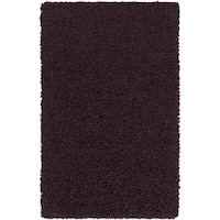 Hand-Woven Kirkham Solid New Zealand Wool Area Rug (5' x 8') - 5' x 8'