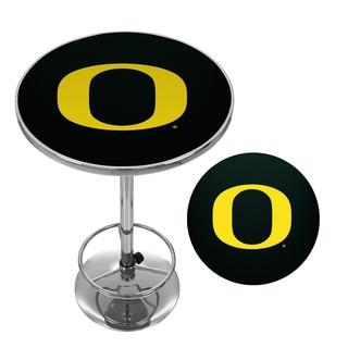 University of Oregon Chrome Pub Table - Carbon Fiber