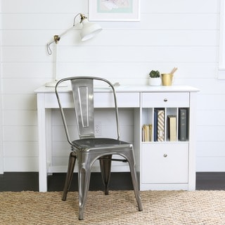 Metal Café Chair - Gun Metal
