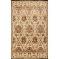 """Hand-Tufted Matlock Border Indoor Wool Area Rug - 5' x 7'6"""""""