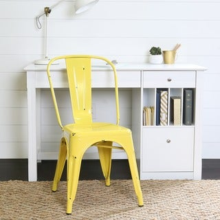 Metal Yellow Cafe Chair