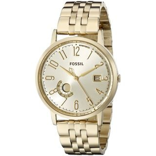 Fossil Women's ES3788 'Vintage Muse' Gold-Tone Stainless Steel Watch