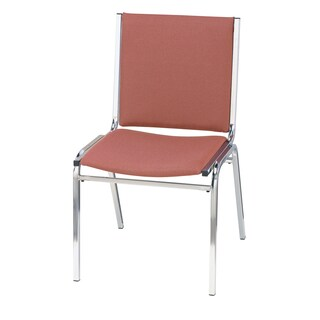 KFI 410 Upholstered Armless Stacking Chair