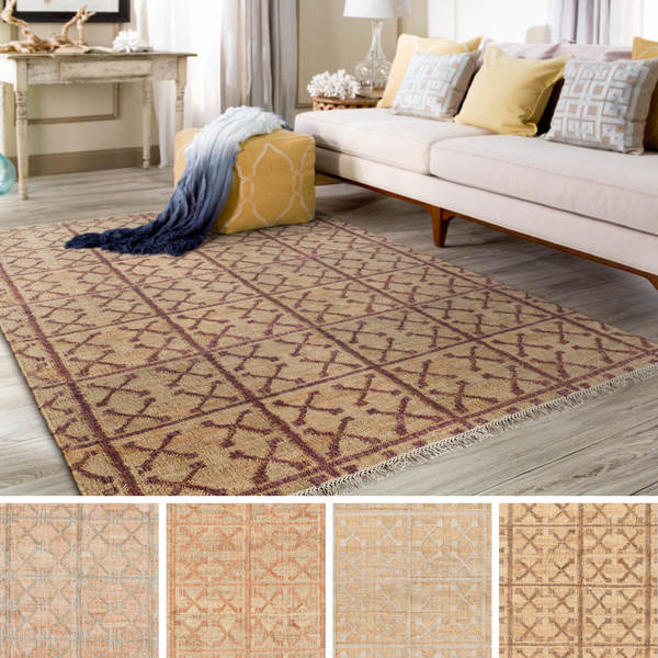 The Curated Nomad Doody Hand-woven Indigo Jute Area Rug