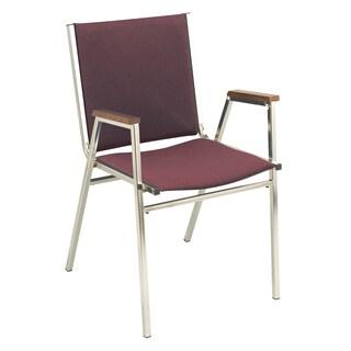 KFI 411 Upholstered Stacking Chair