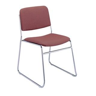 KFI 310 Upholstered Sled Base Armless Stacking Chair