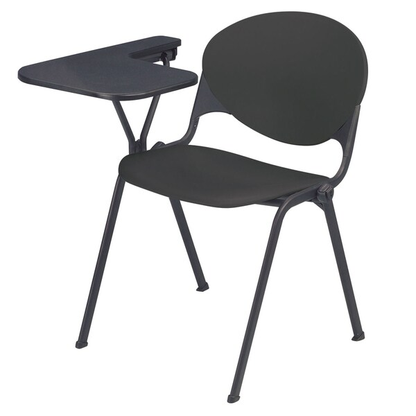shop polypropylene stacking school chair with right writing tablet