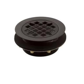 Kohler 2 inch Brass Round Shower Drain in Oil-Rubbed Bronze