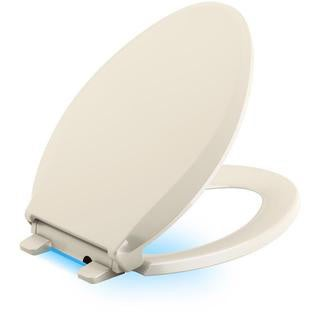 Kohler Cachet LED Nightlight Elongated Closed Front Toilet Seat