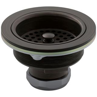 Garbage Disposal Oil Rubbed Bronze Flange With Stopper