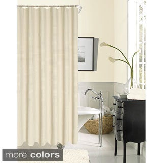 W Hotel Collection Waffle Shower Curtain by Dainty Home