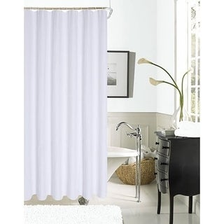Spa 251 Waffle Shower Curtain by Dainty Home