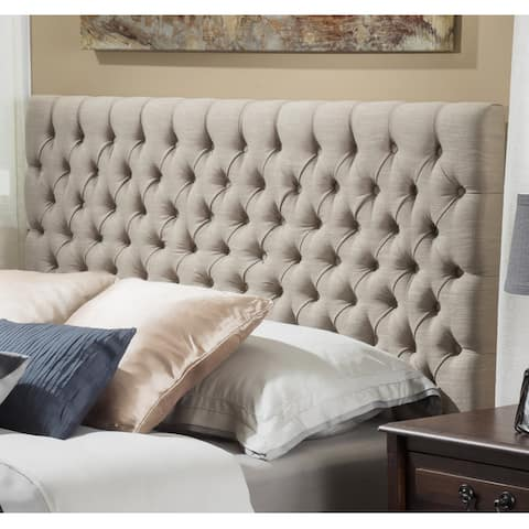 Jezebel Adjustable King/ California King Fabric Headboard by Christopher Knight Home