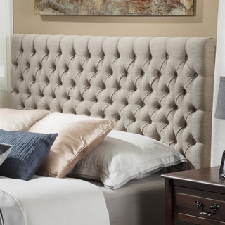 Jezebel Adjustable Linen Headboard by Christopher Knight Home