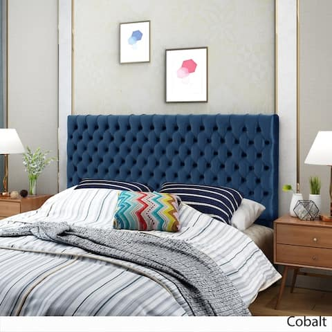 Jezebel Adjustable Linen Headboard by Christopher Knight Home
