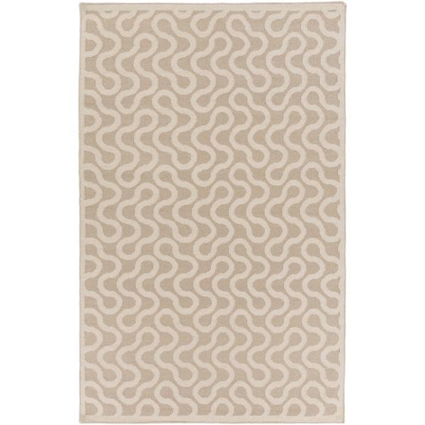 Hand-Woven Asheton Reversible Wool Rug (5' x 8')