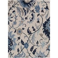 Hand-Tufted Cohen Contemporary Wool Area Rug - 8' x 11'