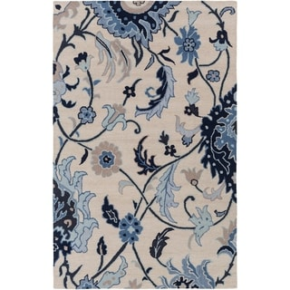 Hand-Tufted Cohen Contemporary Wool Rug (5' x 8')