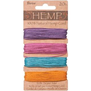 Hemp Cord 20lb 120'Pastels