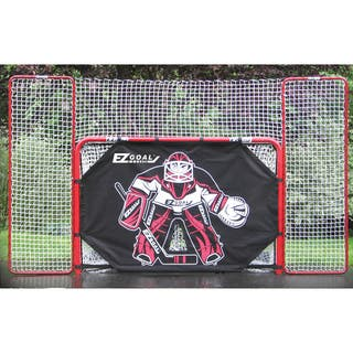 2-inch Heavy-Duty Official Regulation Folding Metal Hockey Goal with Targets, Backstop and Shooter Tutor|https://ak1.ostkcdn.com/images/products/10522553/P17605715.jpg?impolicy=medium