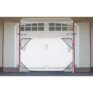 Hockey Backstop Rebounder and 4 Targets Fits All 4x6 Goals https://ak1.ostkcdn.com/images/products/10522554/P17605716.jpg?impolicy=medium