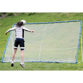 12' Pro Multi-sport All-season 6-in-1 Backstop/ Goal Tilting Rebounder