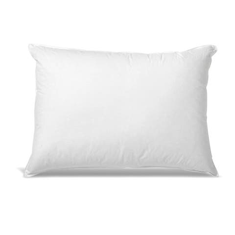 Kotter Home Hotel Style Down and Feather Side / Stomach Sleeper Pillow - White
