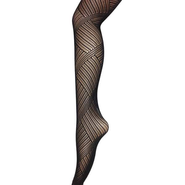 Full Length Comfortable Black Fishnet Stockings