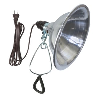 Woods 6-foot Clamp Light