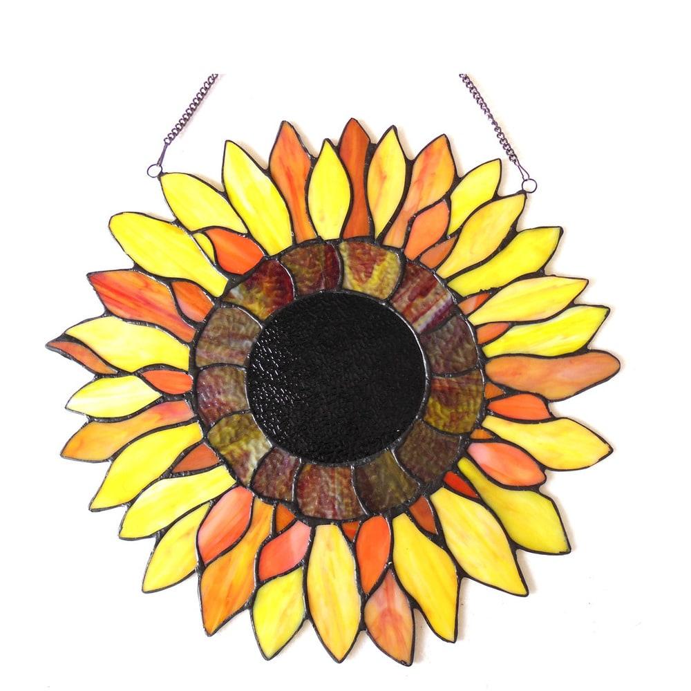 Shop Chloe Sunflower Design Window Panel/Suncatcher - 10522609