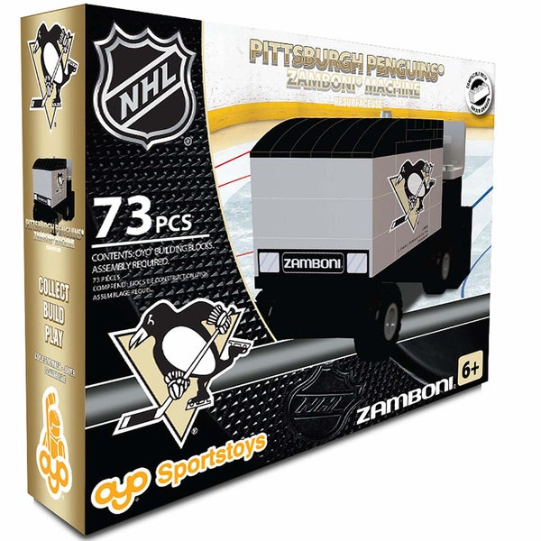 Oyo Pittsburgh Penguins 73-Piece Zamboni Building Set