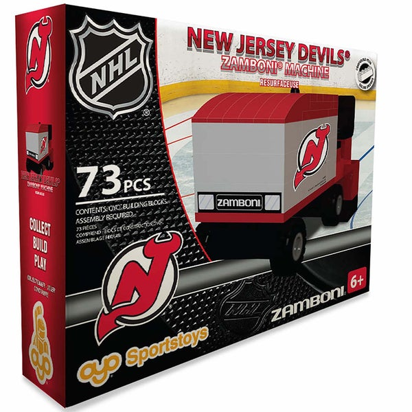 Oyo New Jersey Devils 73-Piece Zamboni Building Set