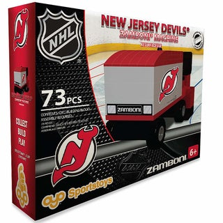 Oyo New Jersey Devils 73-Piece Zamboni Building Set