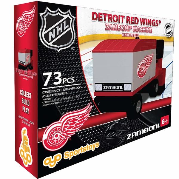 Oyo Detroit Red Wings 73-Piece Zamboni Building Set