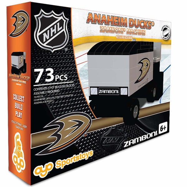 Oyo Anaheim Ducks 73-Piece Zamboni Building Set