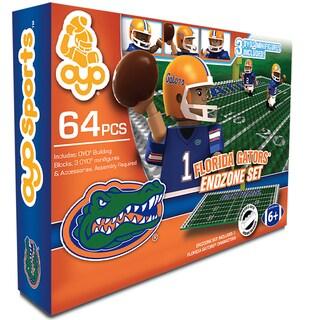 Oyo NCAA Florida Gators 64-Piece End Zone Building Set