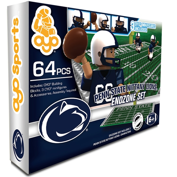 Oyo NCAA Penn State Nittany Lions 64-Piece End Zone Building Set
