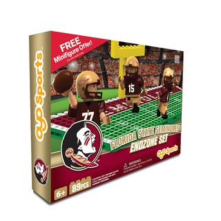 Oyo NCAA Florida State Seminoles 64-Piece End Zone Building Set