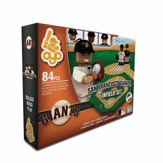 Oyo MLB San Francisco Giants 84-Piece Infield Building Set - Thumbnail 0