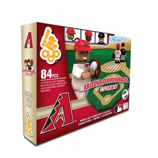 Oyo MLB Arizona Diamondbacks 84-Piece Infield Building Set