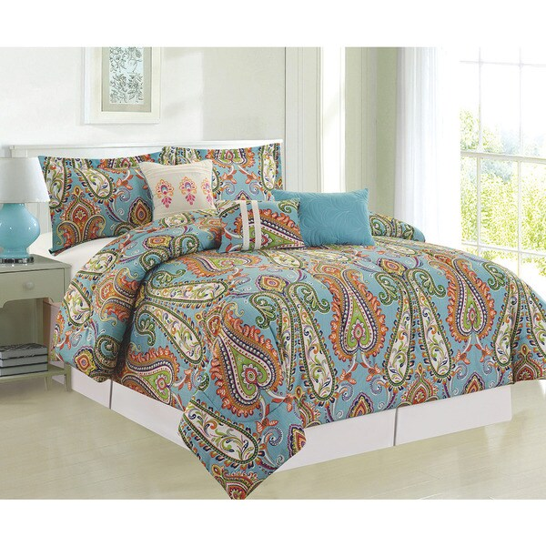 Shop Mystic 6 Piece Comforter Set Free Shipping Today